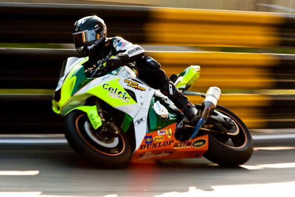 19th - 22nd November 2009. Circuit de Guia, Macau. James McBride, (Pazzo/East Coast Racing). Action. World Copyright: Drew Gibson/LAT Photographic.ref: Digital Image _Y2Z2182