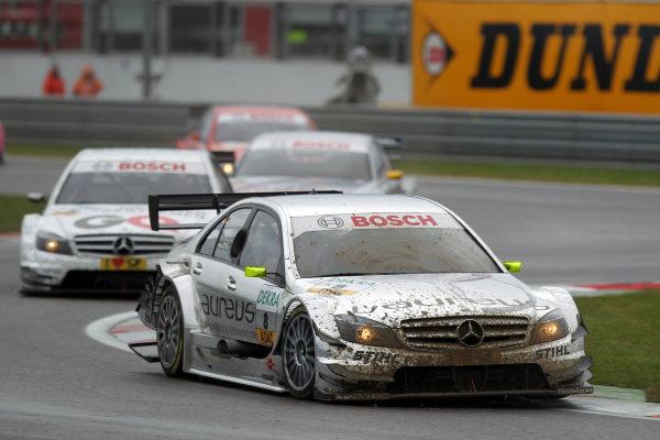 Ralf Schumacher (GER), Laureus AMG Mercedes, Laureus AMG Mercedes C-Klasse (2009).DTM, Rd10, Adria International Raceway, Italy. 29-31 October 2010 World Copyright: LAT Photographicref: dne1031oc145