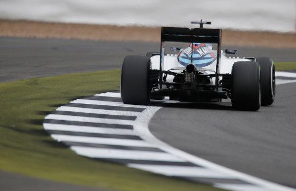 Silverstone, Northamptonshire, UK Friday 08 July 2016. Valtteri Bottas, Williams FW38 Mercedes.  World Copyright: Andrew Ferraro/LAT Photographic ref: Digital Image _FER8939