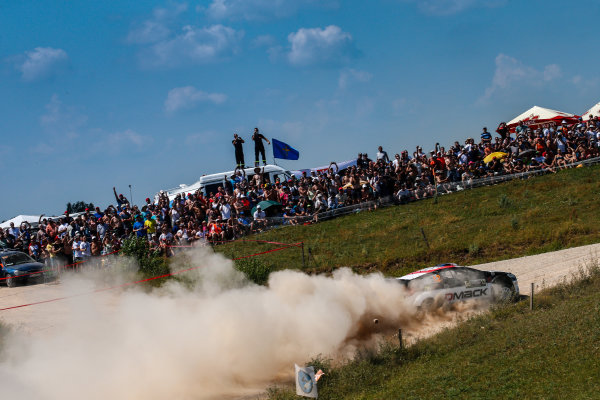 2016 FIA World Rally Championship, Round 07, Rally Poland,  June 30 - July 03, 2016 Ott Tanak, Ford, action Worldwide Copyright: McKlein/LAT
