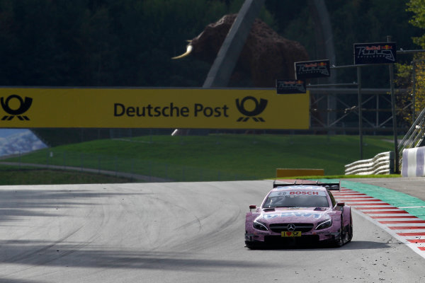 2017 DTM Round 8  Red Bull Ring, Spielberg, Austria  Friday 22 September 2017. Lucas Auer, Mercedes-AMG Team HWA, Mercedes-AMG C63 DTM World Copyright: Alexander Trienitz/LAT Images ref: Digital Image 2017-DTM-RBR-AT3-0422