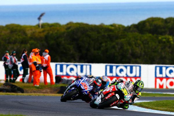 2017 MotoGP Championship - Round 16 Phillip Island, Australia. Sunday 22 October 2017 Cal Crutchlow, Team LCR Honda World Copyright: Gold and Goose / LAT Images ref: Digital Image 24615