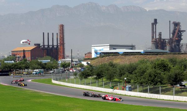 Champ Car action at Monterrey. Champ Car World Series, Rd3, Tecate Grand Prix, Fundidora Park, Monterrey, Mexico, 19-21 May 2006. DIGITAL IMAGE