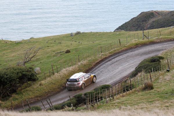Round 7, Rally New Zealand, 21st-24th June 2012Mikko Hirvonen, Citroen, Action.