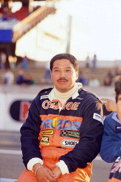 1990 Le Mans 24 HoursLe Mans, France. 16th - 17th June.Yorino Terada (Mazda 767B).World Copyright: Murenbeeld/LAT Photographicref: 35mm Transparency Image