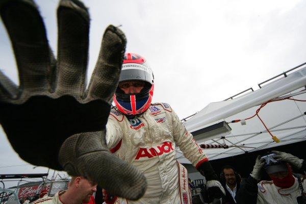 2004 American Le Mans Series (ALMS)Laguna Seca, California, USA. 15 - 16 October.Johnny Herbert.World Copyright: Richard Dole/LAT Photographicref: Digital Image Only