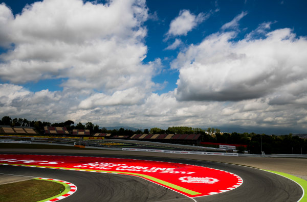 2017 GP3 Series Round 1.  Circuit de Catalunya, Barcelona, Spain. Thursday 11 May 2017. A view of the circuit. Photo: Zak Mauger/GP3 Series Media Service. ref: Digital Image _56I6682