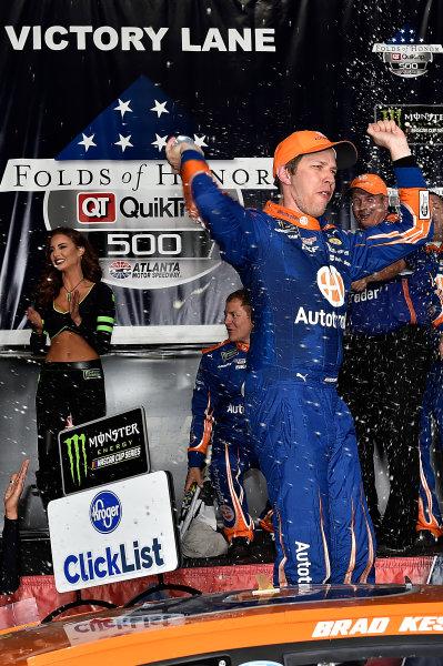 2017 Monster Energy NASCAR Cup Series - Fold of Honor QuikTrip 500 Atlanta Motor Speedway, Hampton, GA USA Sunday 5 March 2017 Brad Keselowski World Copyright: Rusty Jarrett/LAT Images ref: Digital Image 17ATL1rj_2841