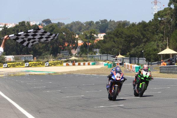 Toprak Razgatlioglu, PATA Yamaha WorldSBK Team, Jonathan Rea, Kawasaki Racing Team WorldSBK.