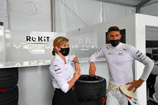 Susie Wolff, Team Principal, Venturi Racing, and Edoardo Mortara (CHE), Venturi Racing