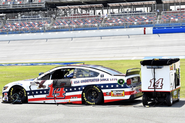 #14: Clint Bowyer, Stewart-Haas Racing, Ford Mustang Barstool Sports America
