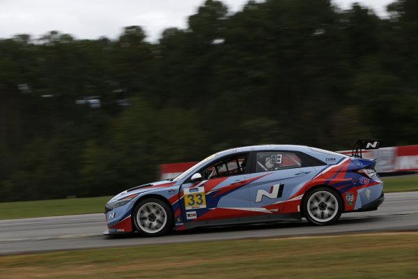 #33: Bryan Herta Autosport w/ Curb-Agajanian Hyundai Elantra N TCR, TCR: Mark Wilkins, Harry Gottsacker